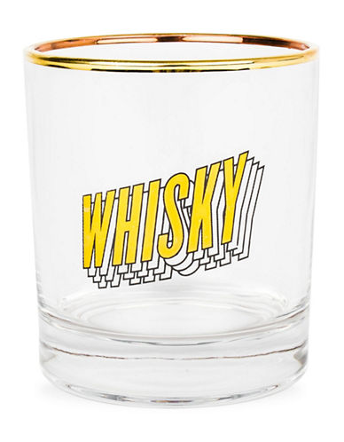 Drake General Store Whiskey Bar Glass-YELLOW-One Size