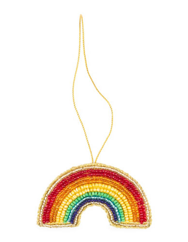 Drake General Store Rainbow Embroidered Ornament-MULTI-One Size