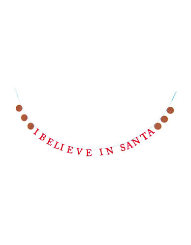 Drake General Store Holiday Statement Garland-RED-One Size
