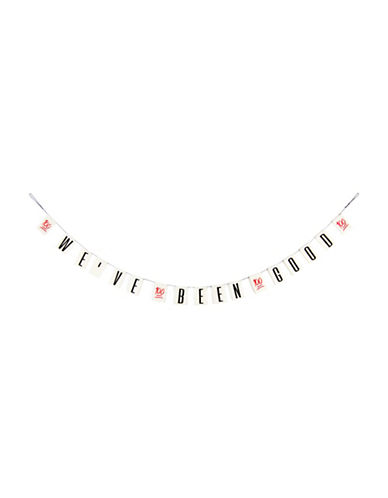 Drake General Store Holiday Statement Garland-BLACK-One Size