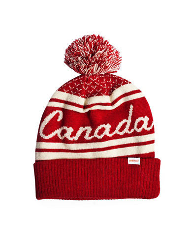 Drake General Store Adult Toque Beanie-RED-One Size