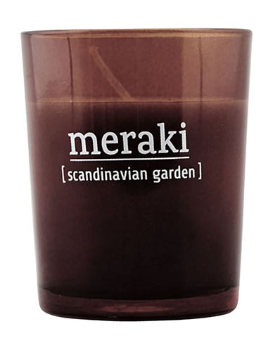 Drake General Store Scandinavian Garden Candle-BROWN-One Size