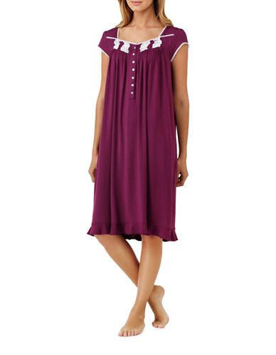 Eileen West Waltz Nightgown-RED-Large