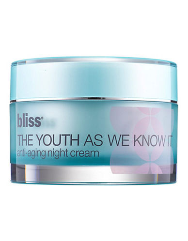 Bliss The Youth As We Know It Night Cream-NO COLOUR-50 ml