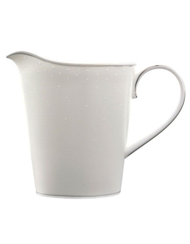 Monique lhuillier Pointe Desprit Creamer white/pearlescent grey One Size