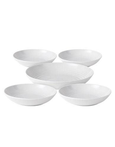 Gordon Ramsay Maze Pasta Set of 5 Pieces-WHITE-One Size