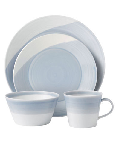 Royal Doulton 1815 4 Piece Place Setting Blue 85212492