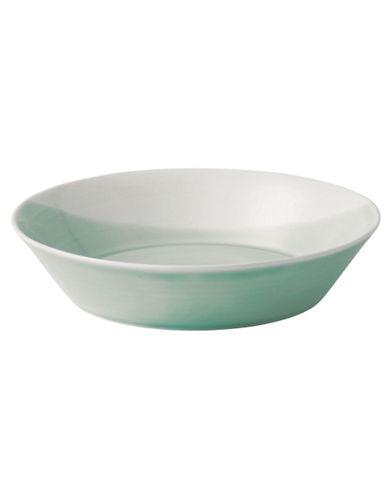 Royal Doulton 1815 Green Pasta Bowl-GREEN-One Size