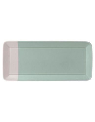 Royal Doulton 1815 Green Rectangular Tray-GREEN-One Size