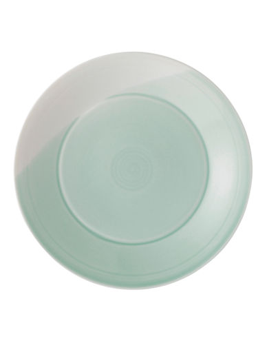 Royal Doulton 1815 Green Salad Plate-GREEN-One Size
