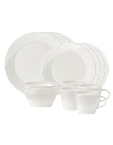 Royal Doulton 1815 White 16 Piece Set-WHITE-One Size 85673883_WHITE_One Size