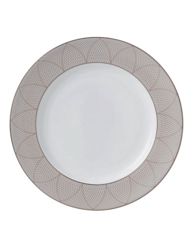 Royal Doulton Finsbury Accent Plate-WHITE-One Size