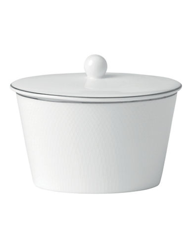 Royal Doulton Finsbury Covered Sugar-WHITE-One Size