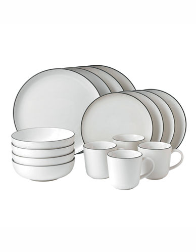 Gordon Ramsay Bread Street White 16 Piece Set-WHITE-One Size