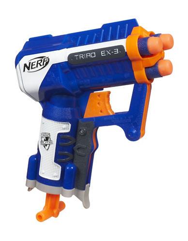 Nerf N-Strike Elite Triad EX-3 Blaster Nerf Gun-MULTI-One Size