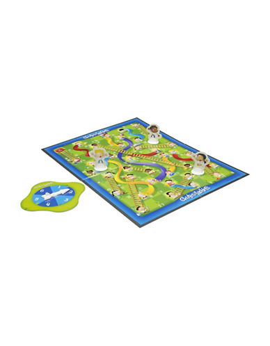 Hasbro Chutes and Ladders Game-MULTI-One Size