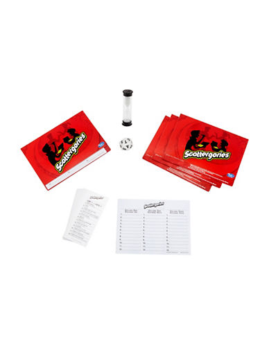 Hasbro Scattergories Multi-Player Game-MULTI-One Size