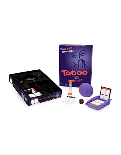 Hasbro Taboo Game - French Version-MULTI-One Size
