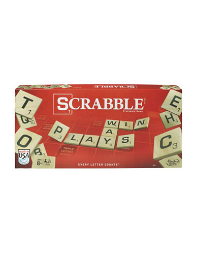 Hasbro Scrabble - English Version-MULTI-One Size