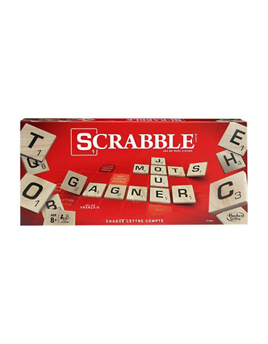 Hasbro Scrabble - French Version-MULTI-One Size