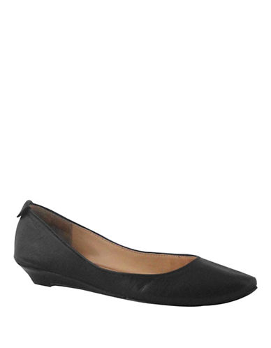 Nine West Itsonn Sliver Wedge-BLACK-8.5