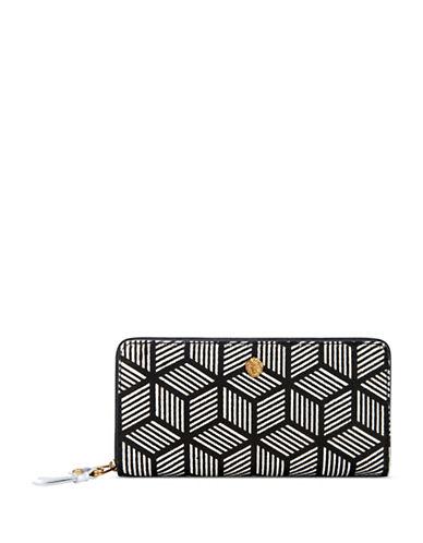 Anne Klein Slim Zip-Around Wallet-MULTI-One Size