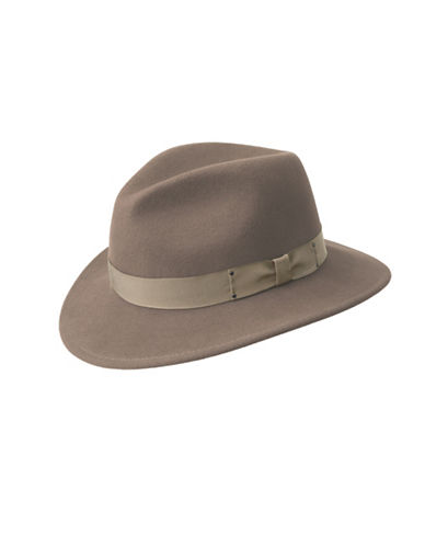 Bailey Hats Curtis Wide Brim Wool Hat-BEIGE-Medium