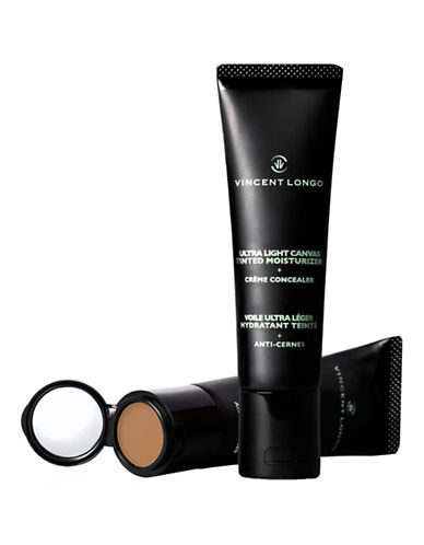 Vincent Longo Ultra Light Canvas Tinted Moisturizer Plus Crème Concealer-DARK 6-One Size