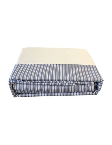 North Home Four-Piece Hampton Sheet Set-BLUE-Double