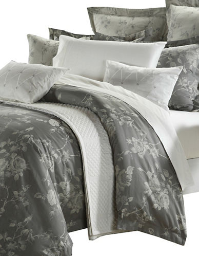North Home Three-Piece Tess Duvet Cover Set-GREY-Queen