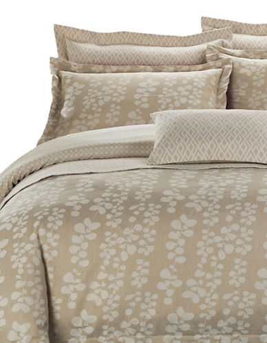 North Home Honey Suckle Seven-Piece Duvet Cover Set-BEIGE-King