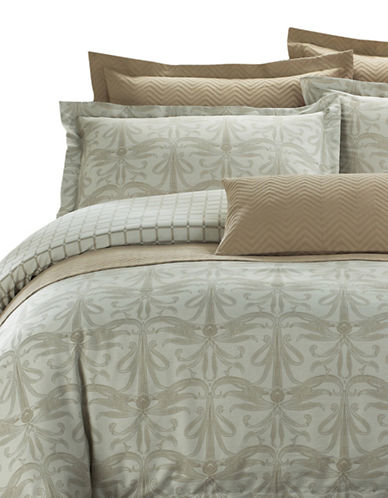 North Home Regency Seven-Piece Duvet Cover Set-BEIGE-Queen