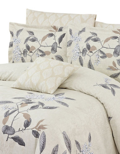 North Home Ashford Four-Piece Duvet Cover Set-BEIGE-Queen