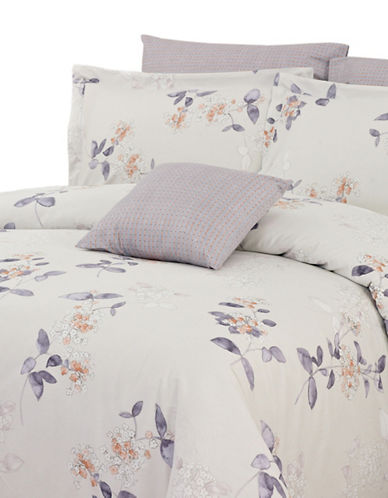 North Home Jaimey Four-Piece Duvet Cover Set-BEIGE-Queen