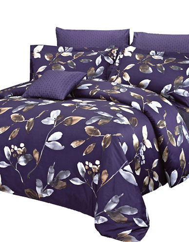 North Home Four-Piece Mystery Duvet Cover Set-PURPLE-Queen