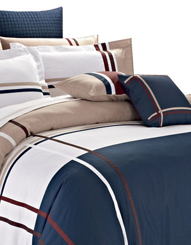 North Home Five-Piece Wilson Duvet Cover Set-MULTI-King