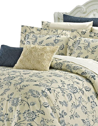 North Home Five-Piece Wedgewood Duvet Cover Set-BEIGE-King