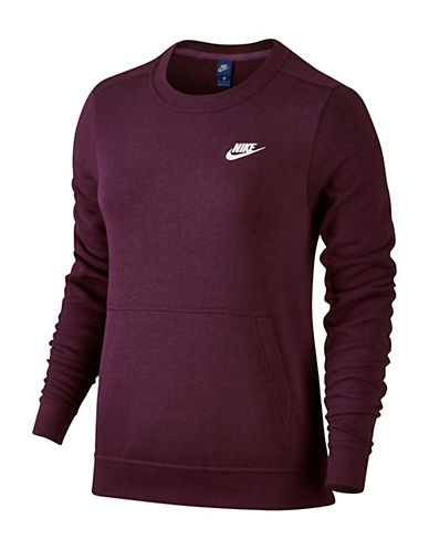 Nike Sportswear Crew Sweater-WINE-Medium