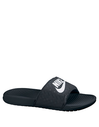 Nike Benassi Just Do It Slide Sandals-BLACK-7 89006419_BLACK_7