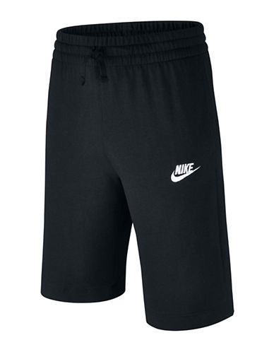 Nike Sportswear Cotton Shorts-BLACK-Medium 89890526_BLACK_Medium