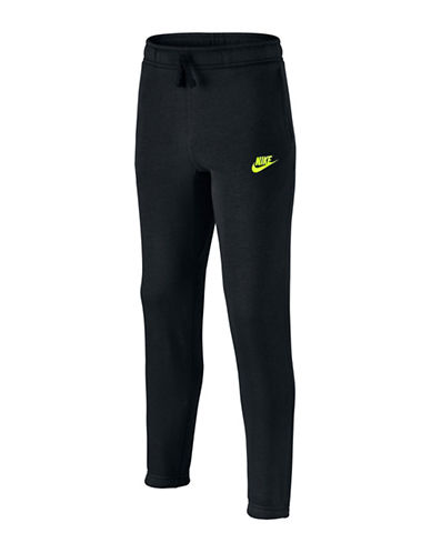 Nike Cotton Blend Pants-BLACK-Small 88787005_BLACK_Small