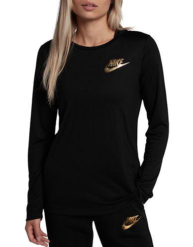 Nike Sportswear Essential Top-BLACK-Large 89687300_BLACK_Large