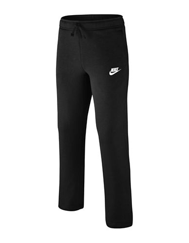 Nike Stretch Sweatpants-BLACK-Small