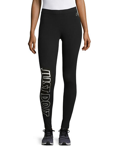 Nike Reflective Logo Leggings-BLACK-X-Large 89655579_BLACK_X-Large