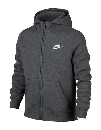 Nike Zip-Front Hoodie-GREY-Medium 88787016_GREY_Medium