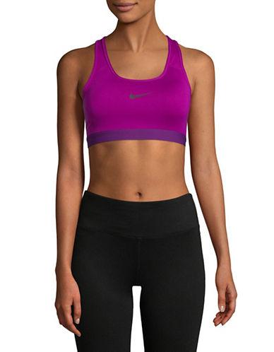 Nike Padded Sports Bra-BERRY-X-Small