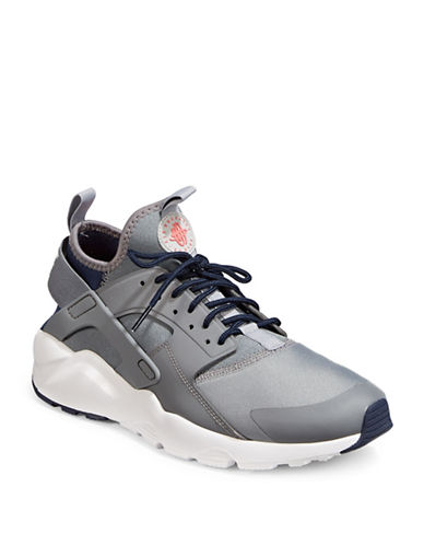 Nike Mens Air Huarache Run Ultra Shoes-CHARCOAL-9