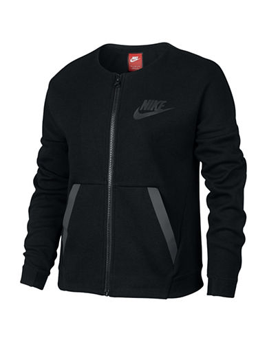 Nike Tech Fleece Jacket-BLACK-Large 88497262_BLACK_Large