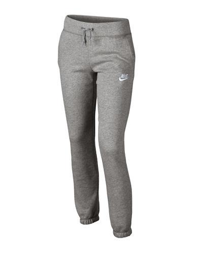 Nike Textured Drawstring Pants-GREY-X-Large 88743658_GREY_X-Large