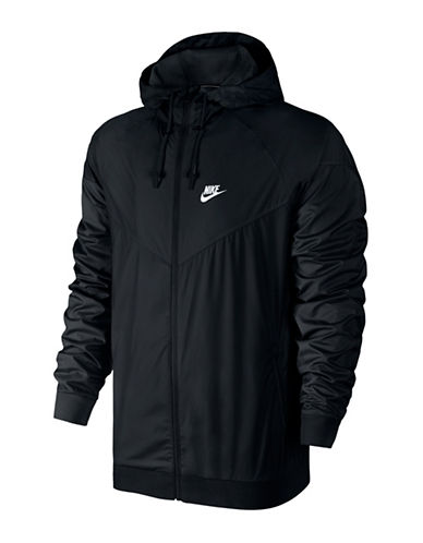 Nike Sportswear Windrunner Jacket-BLACK-Medium